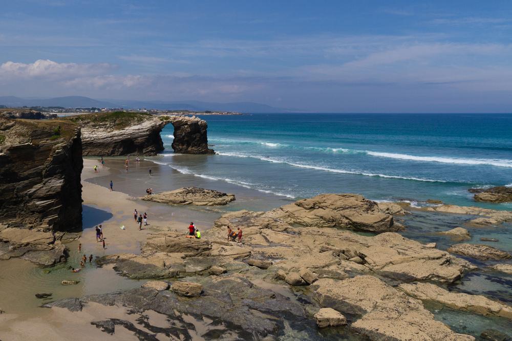 playas en lugo espana
