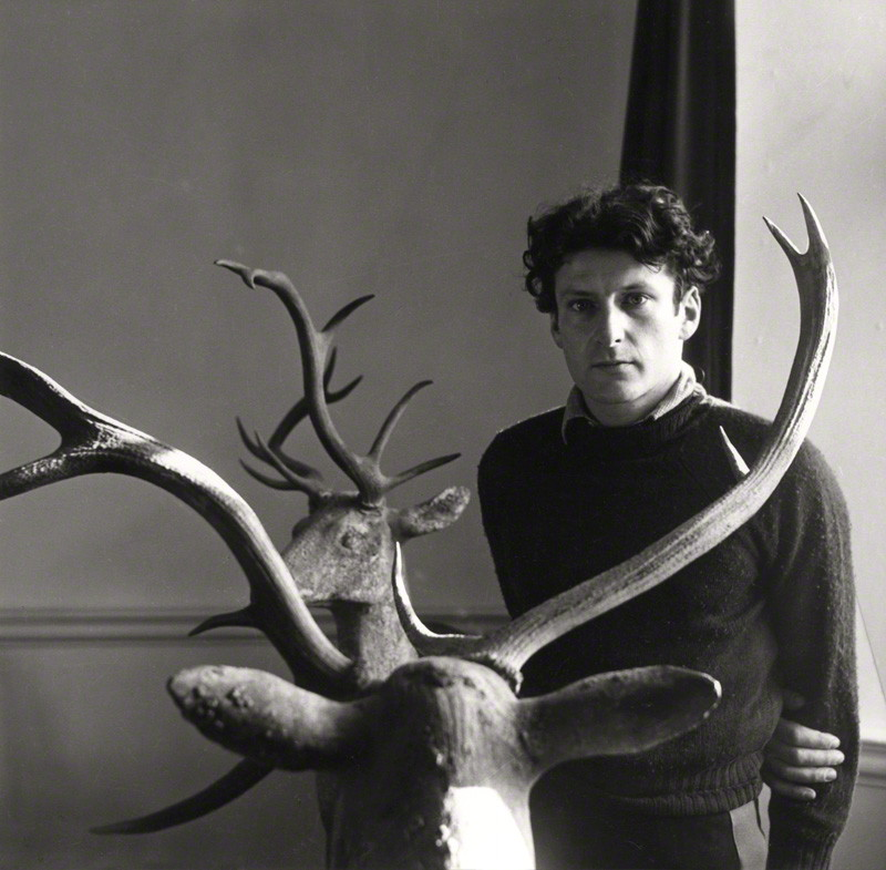 NPG x14083; Lucian Freud by Cecil Beaton