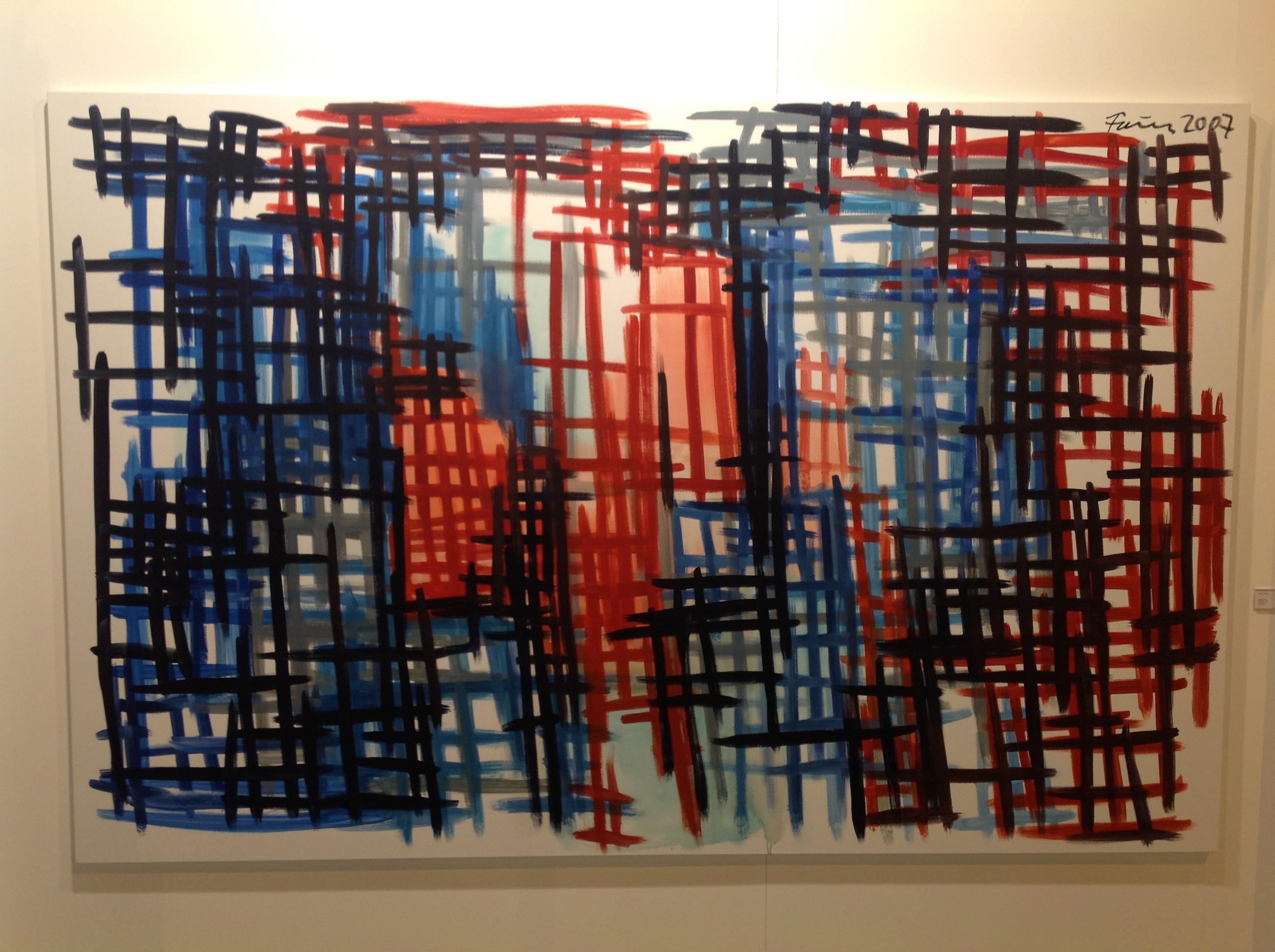 Obra del alemán Gunter Forg. Su obra se está valorando muchísimo luego de su fallecimiento el año pasado.