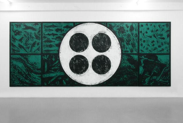 Obra del artista que pinta en estado de trance, el americano Matt Mullican, proximamente en ArteBA