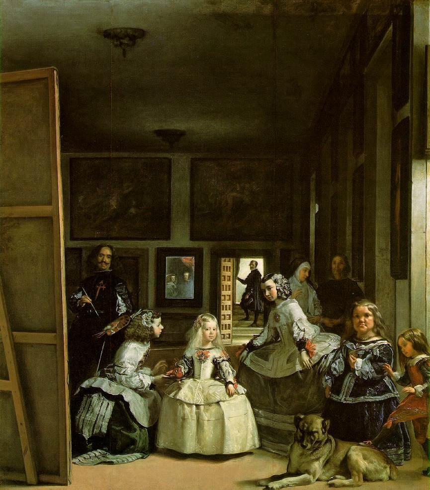Las Meninas de Diego Velázquez, 1656