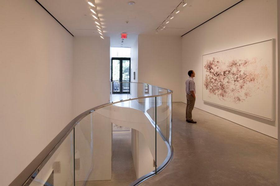 Muestra de Guillermo Kuitca en Sperone Westwater, NYC, 2010