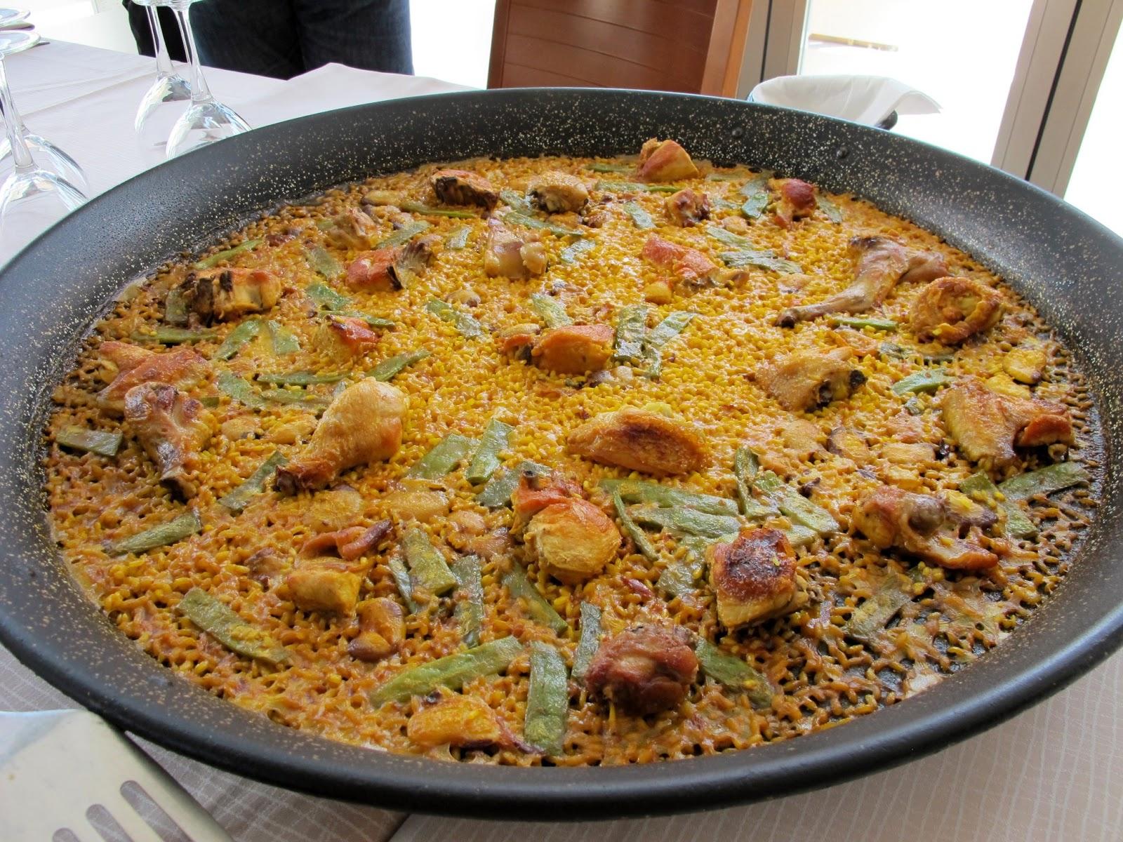 Paella valenciana cocinadelmundo for Cocina valenciana