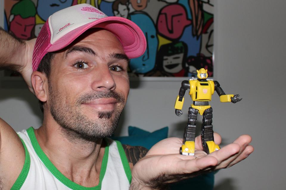 Rodrigo Remón, Coleccionista de Transformers