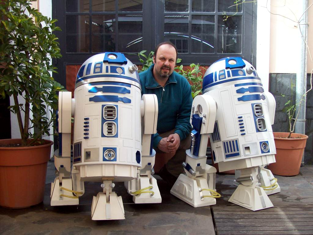 Robot R2D2 real argentino - Star Wars