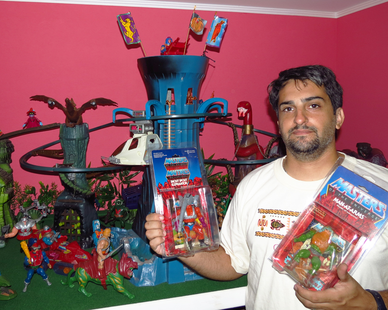 Coleccionista de muñecos de He-Man MOTU