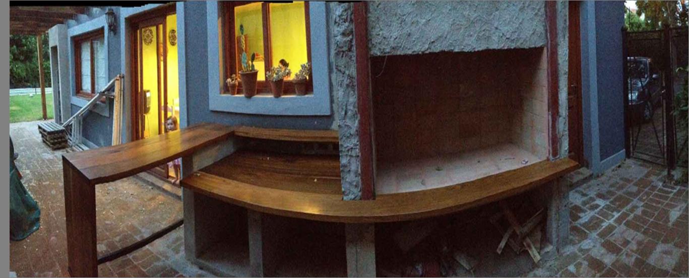 Parrillas c mo armar el espacio del asador for Asador de ladrillo para jardin