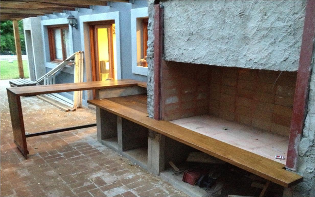 Parrillas c mo armar el espacio del asador for Faroles de barro para jardin