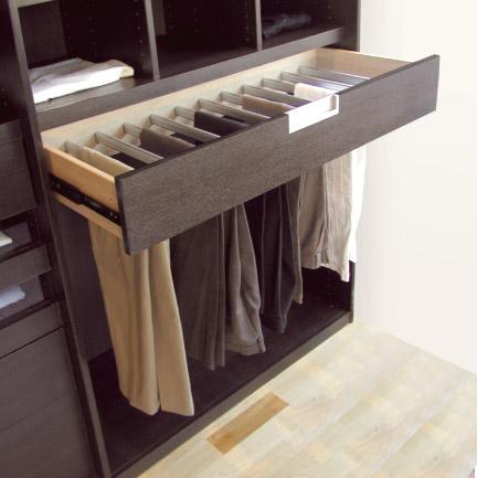 Ideas para organizar un vestidor decoespacios - Organizar armarios empotrados ...