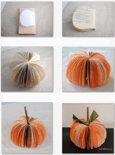 3 ideas para reutilizar hojas de libros decoideas - Libros antiguos para decoracion ...