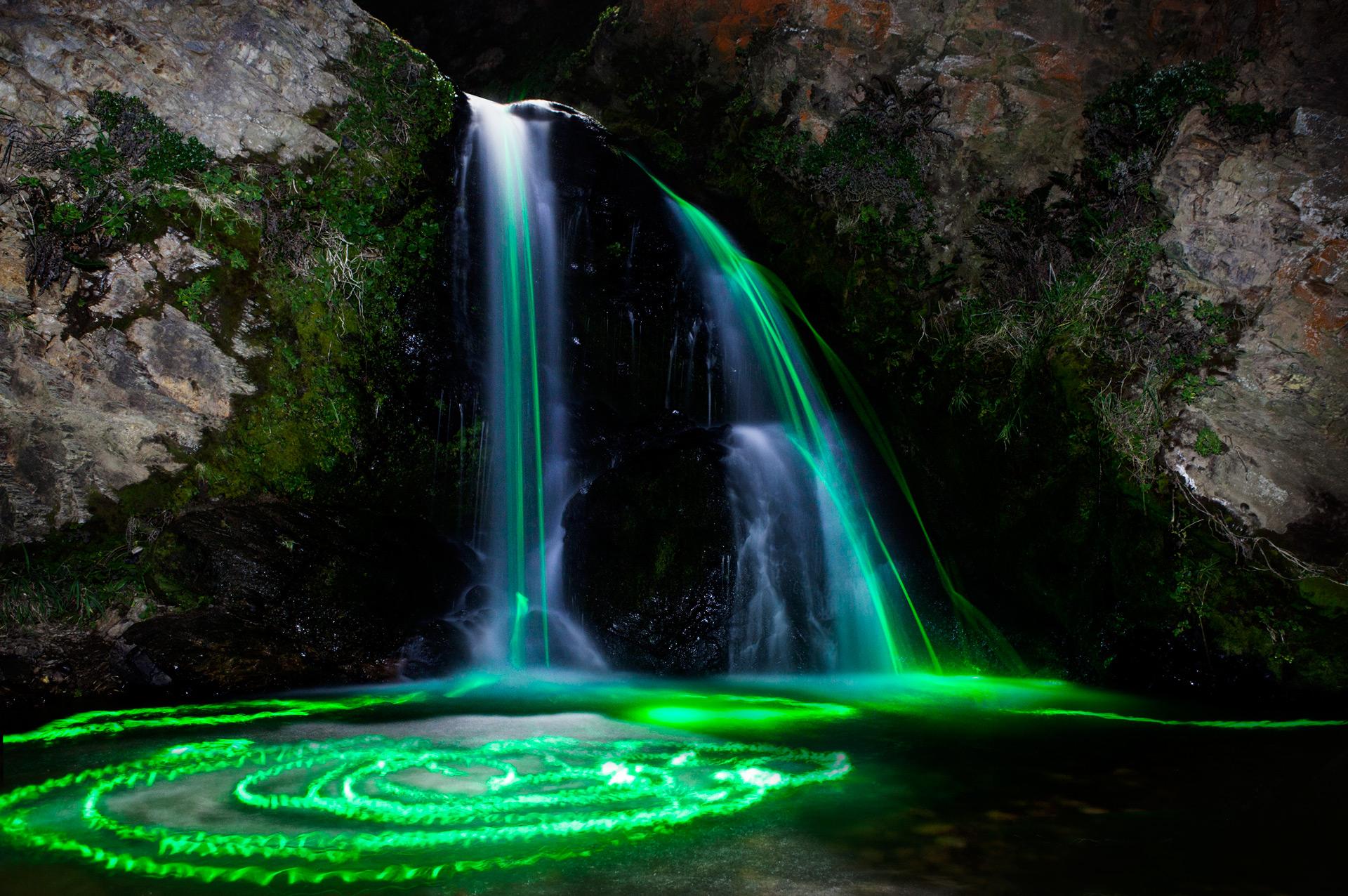 Neon luminance 06 dise o - Image de cascade ...