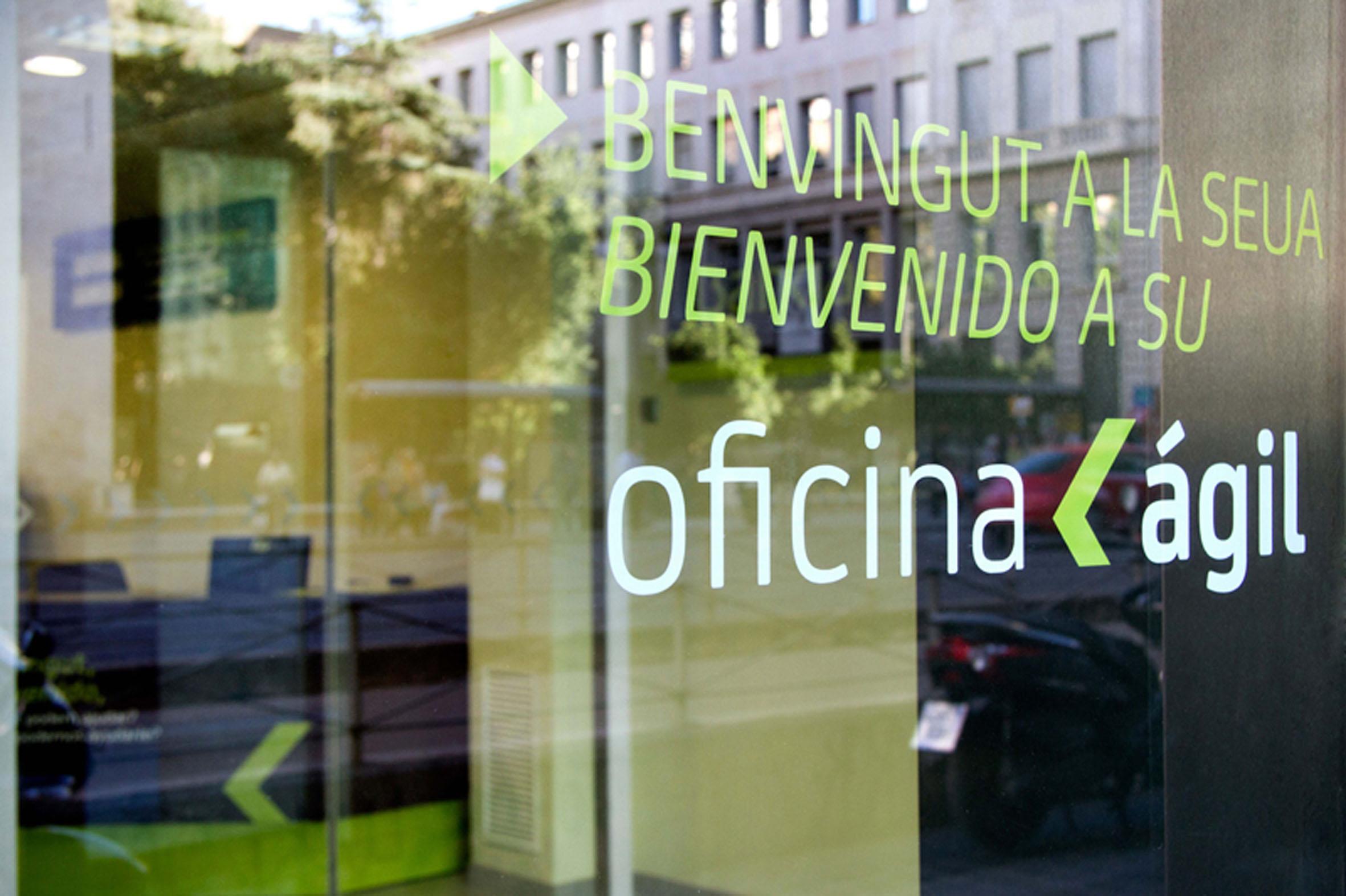Bankia agil 02 dise o for Oficina agil bankia
