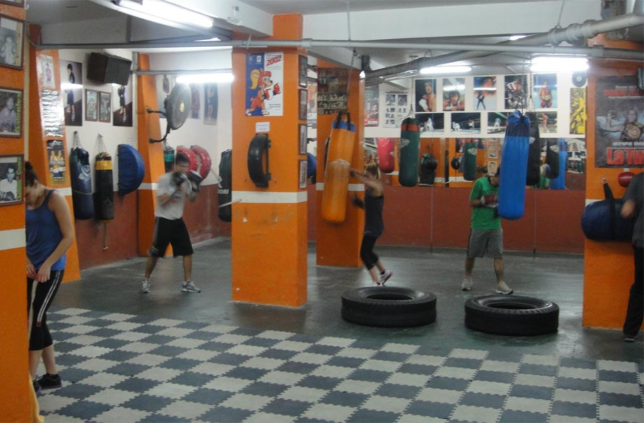 Boxeo legendario estaci ndecombate for Gimnasio de boxeo
