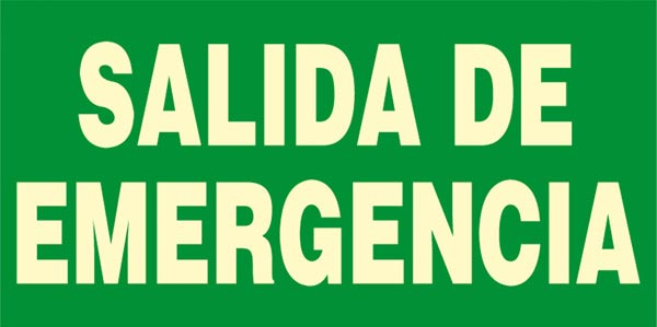 Salidas Emergencia Salidas de Emergencia