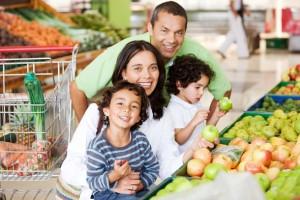 Ir al supermercado con los chicos
