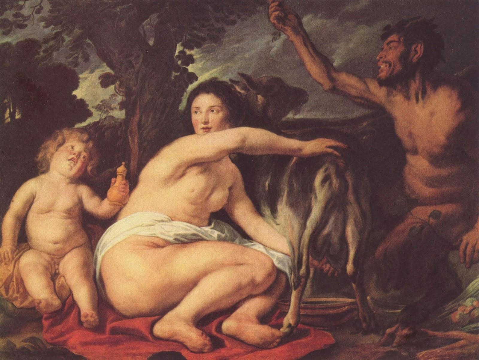 La cabra Astrea alimentó a Zeus en su infancia