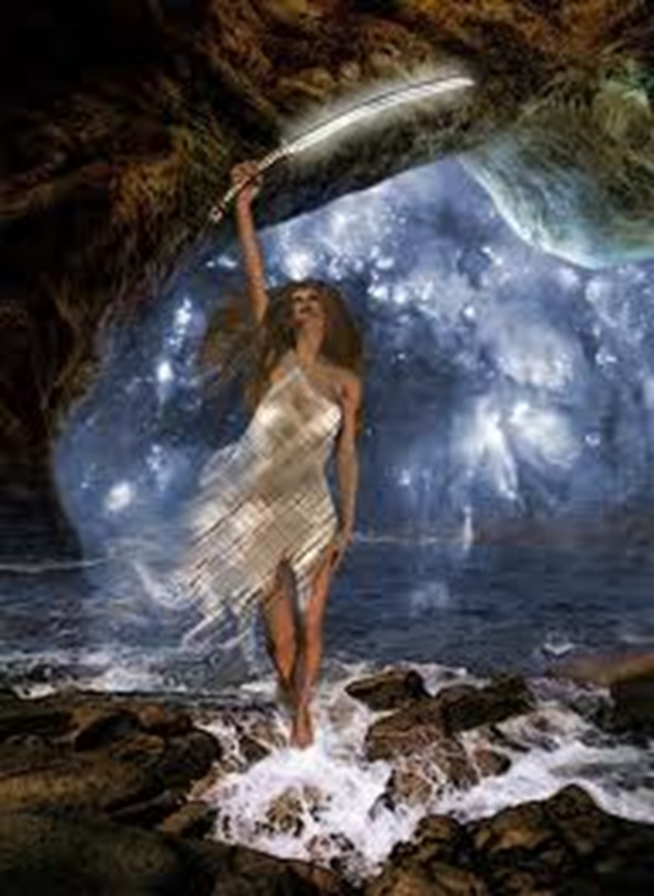 Astrea, la ninfa que solicitó ser virgen a Zeus y que representa al signo de Virgo.