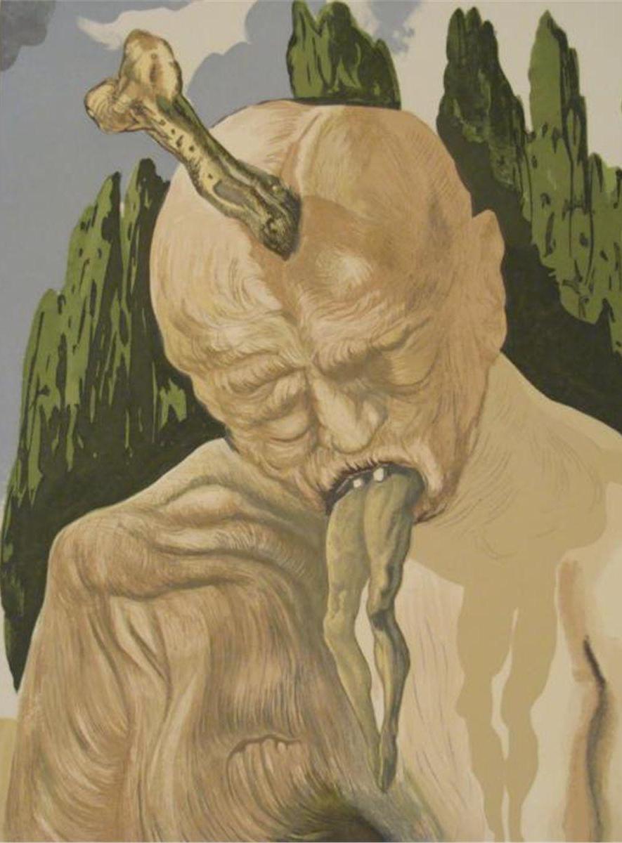 Lucifer, según la concepción del surrealista Salvador Dalí