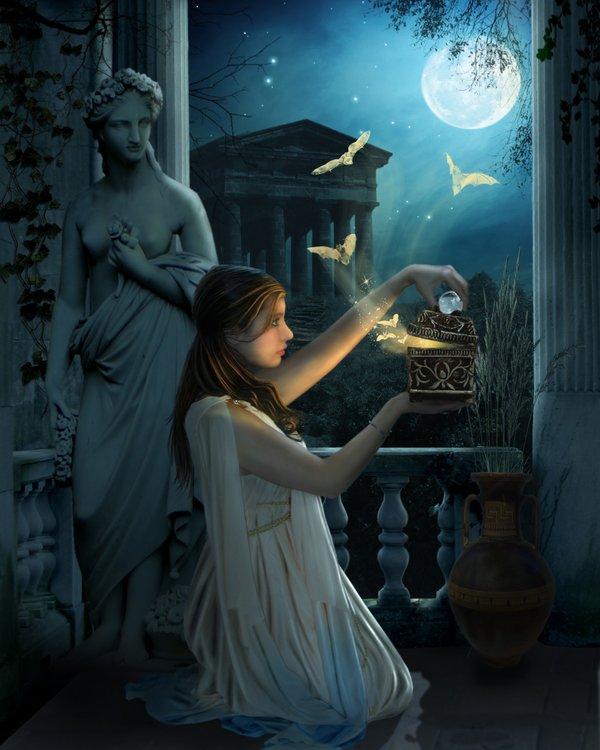 """Pandora es el """"equivalente"""" griego de Eva, que en la mitología judeo-cristiana desatará el caos al morder la manzana prohibida"""