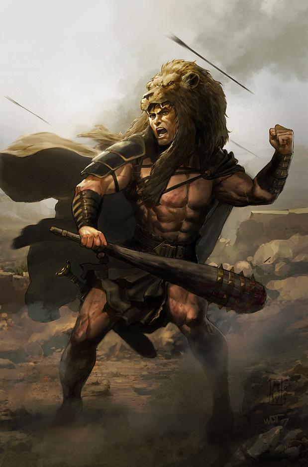 La fortaleza de Heracles contrasta con la espiritualidad de Jesús, aunque ambos realizaron innumerables milagros