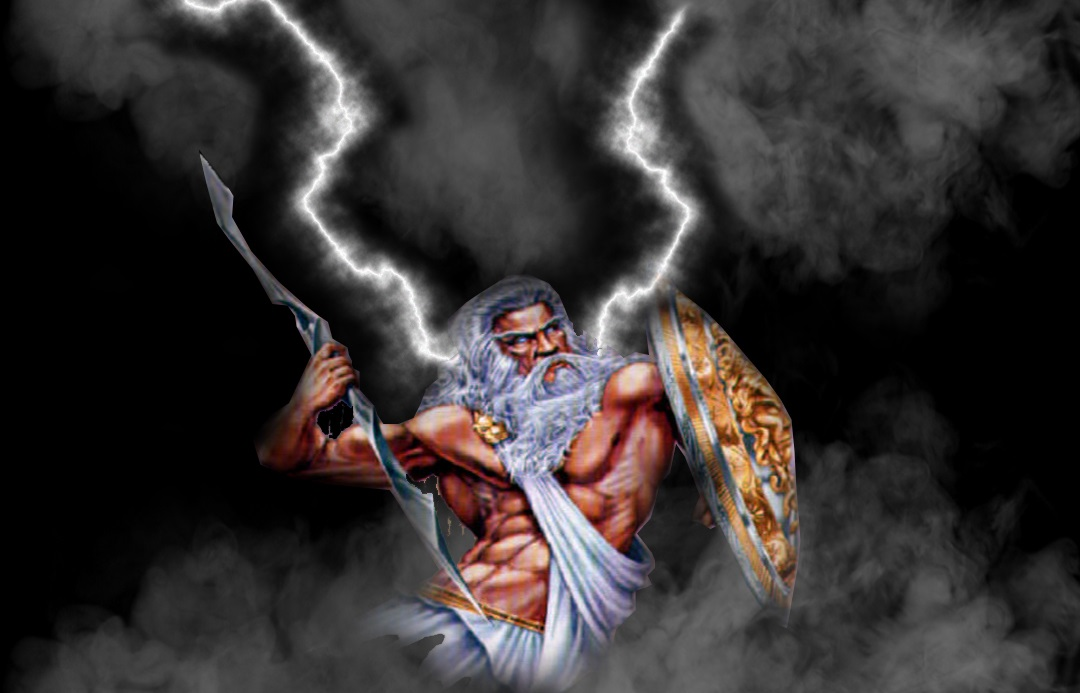 Zeus representaba la lluvia, el rayo y el trueno. También la omnipotencia.
