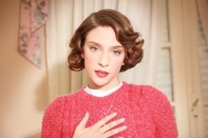Andrea Carballo, la actriz que interpreta a María Teresa