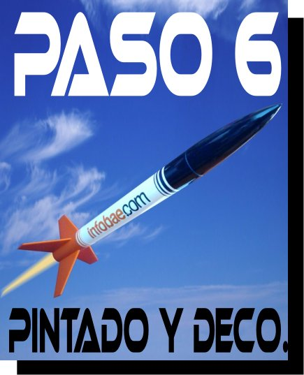 Construcci n de un cohete paso a paso paso 6 for Construccion de un vivero paso a paso