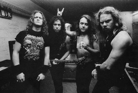 I Metallica, tanti tanti anni fa