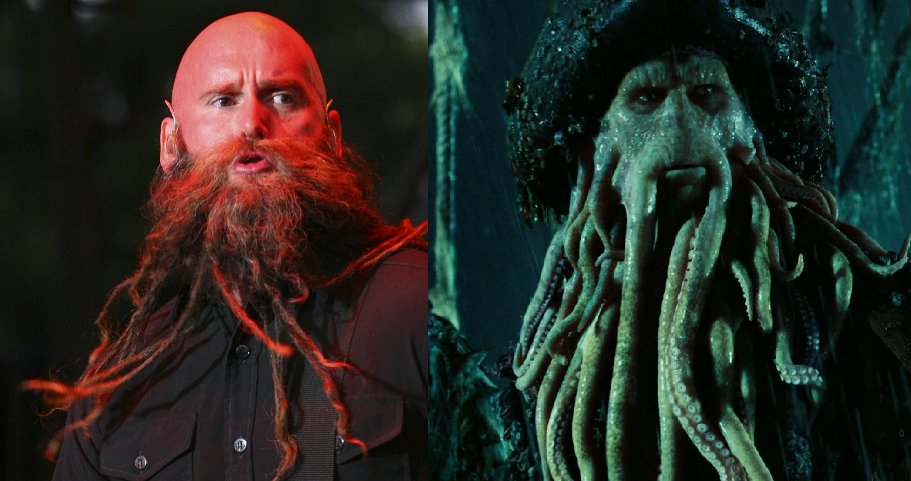 Chris Kael, Five Finger Death Punch - Davy Jones (Bill Nighy, actor)