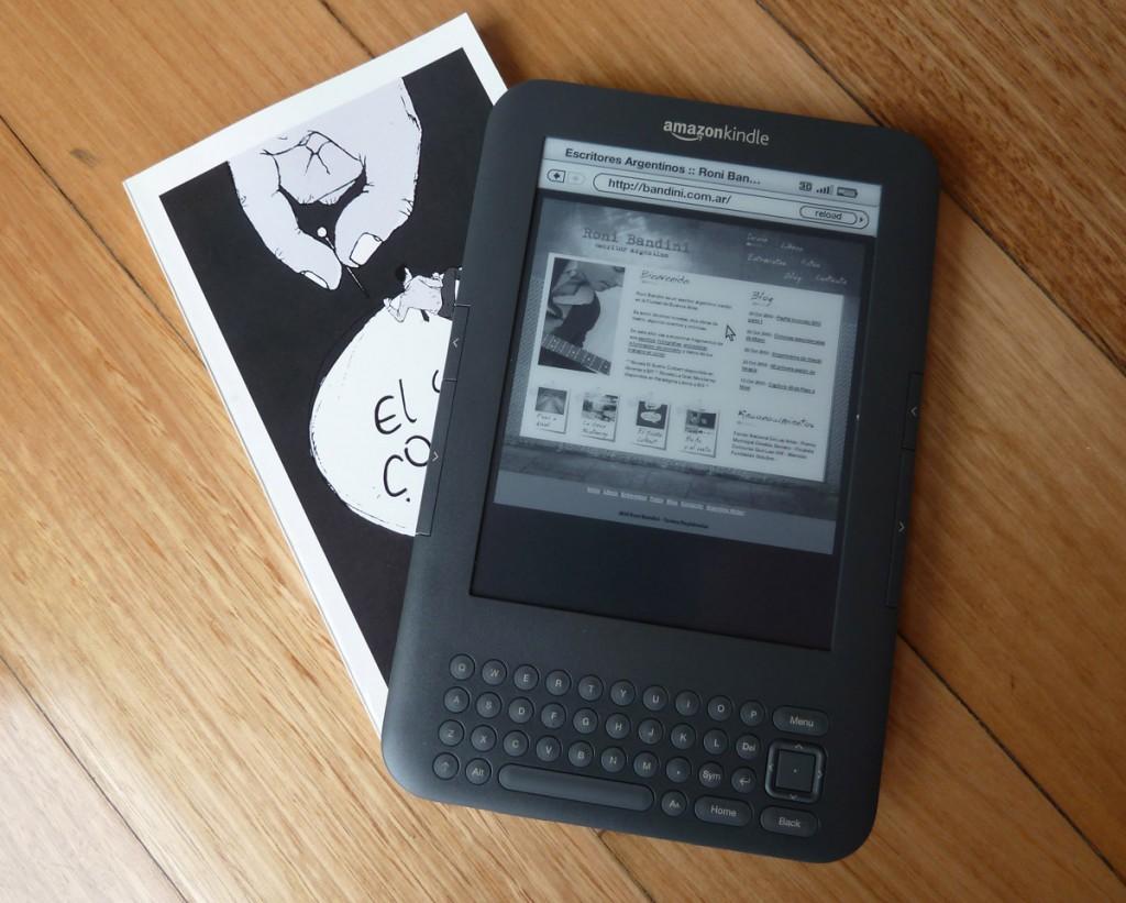 Original 5 de lectura de libros electrónicos kindle lector