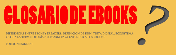 Glosario de EBooks