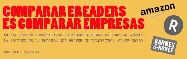 Comparar Empresas eReaders