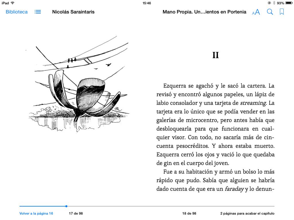 Captura de Mano Propia en iPad