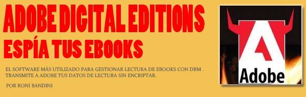 Adobe Digital Editions espia