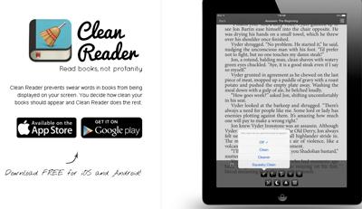 Clean Reader App eBook