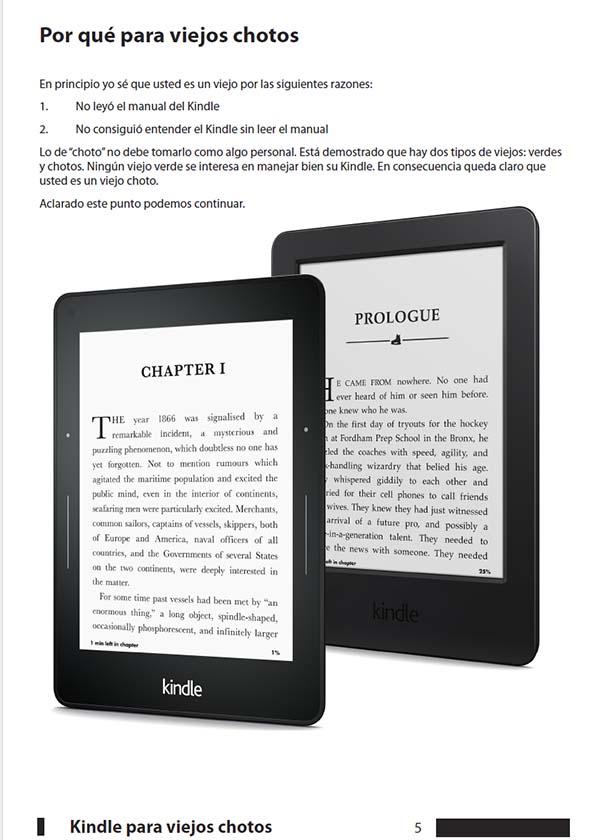 Kindle para viejos chotos v7 ~ #MundoEbooks ~ Infobae com