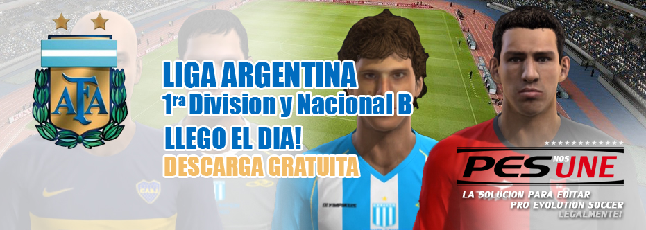 Ya Podes Descargar La Liga Argentina Pes2013 Gratis Hablamospes