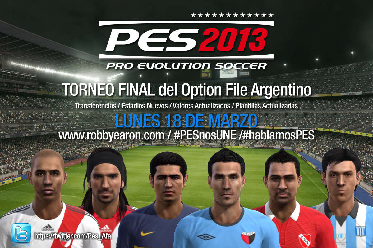 Parche Para Torneo Argentino Para Pes 06
