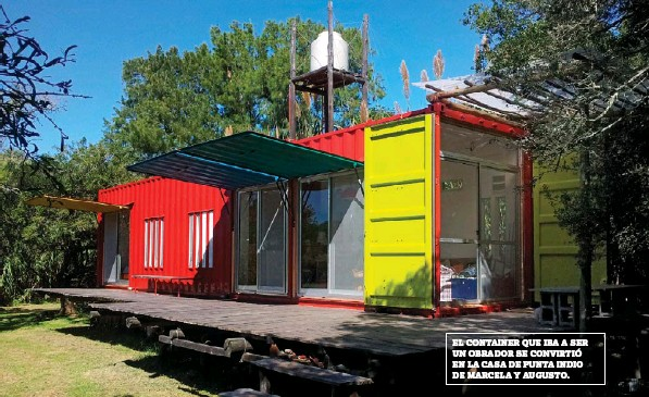 Vivir en un container producircambio for Casa container costo