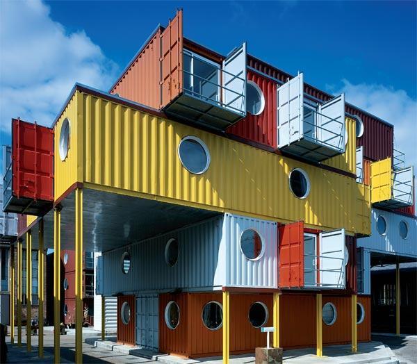 Vivir en un container producircambio for Un container