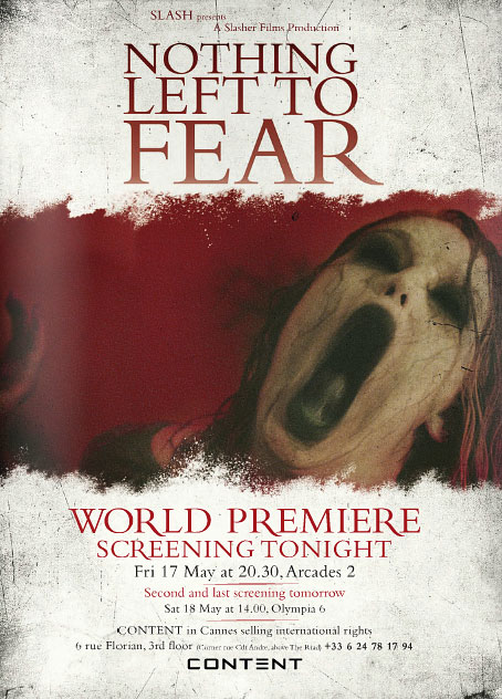 Nothing Left to Fear, película de terror de Slash