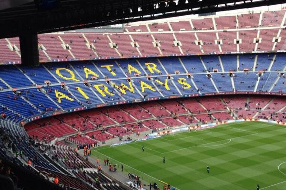 QATAR AIRWAYS CAMP NOU