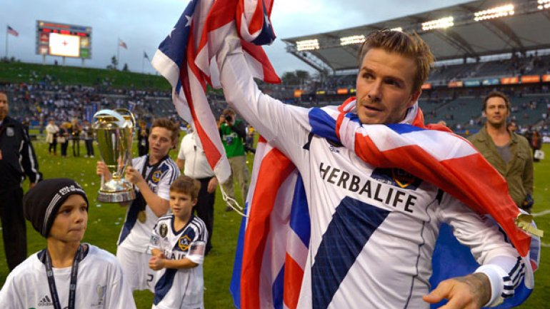 BECKHAM CAMPEON MLS