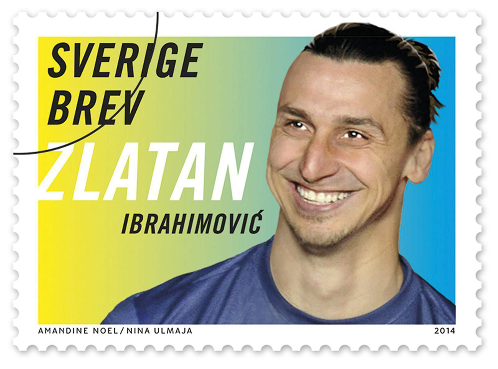 IBRAHIMOVIC ESTAMPILLA