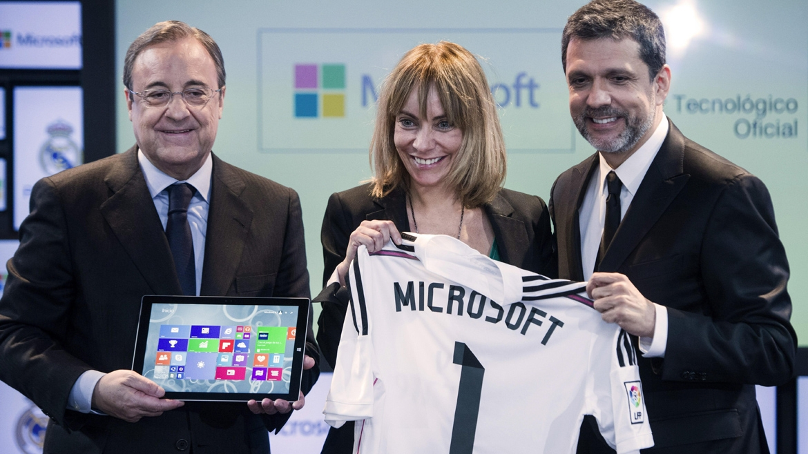 REAL MADRID MICROSOFT
