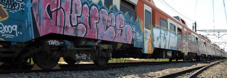 Portada Trenes Graffiti