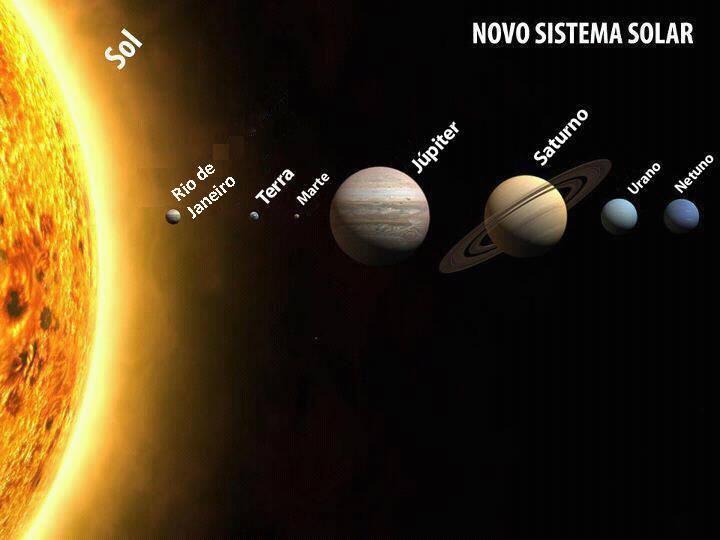 río en el sistema solar