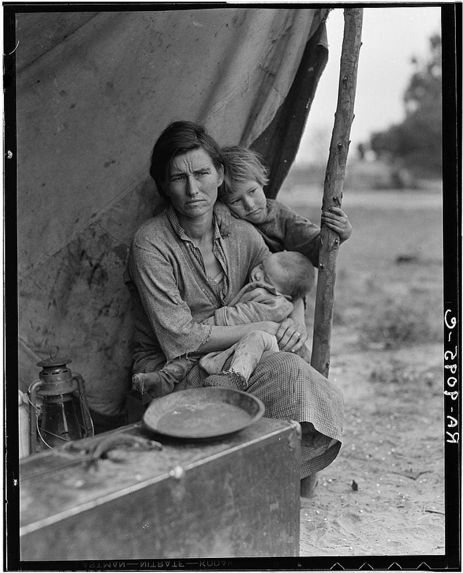 Migrant Mother 1936 Essay