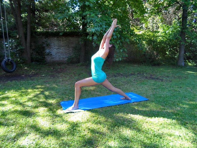 El guerrero ~ #YogaParaMortales ~ Infobae.com